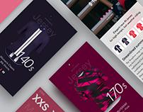 Rapha App - Concept + Framerjs