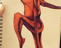 Sketchbook Doodles3: Tron Style