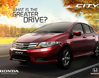 Honda City Digital Still