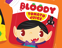 Halloween kids packaging