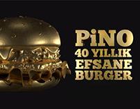 Pino 40. Yıl Özel 3D Burger