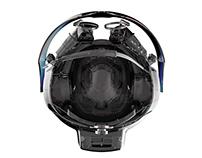 Attck Helicopter HUD Helmet Design Concept