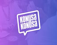 KonuşaKonuşa Logo Design