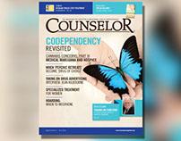 Counselor Magazine Aug 14 Layout & Design