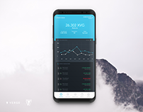 Cryptocurrency Mobile Wallet GUI Mockup