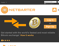 Layout for Netbarter - Internet Exchange