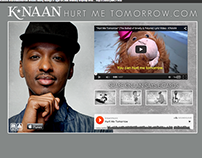 K'Naan Hurt Me Tomorrow microsite