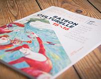 Braine l'Alleud Cultural Center - Brochure 2015-2016