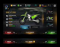 TiMX Motocross app Ui/Ux Design
