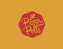 Caja para pizza- Pizzapolis