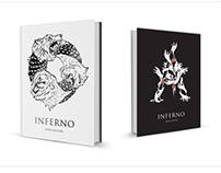 "Dante's ""inferno"" drop cap lettering (+poster ex.)"