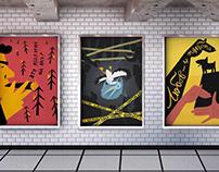 Series of social posters