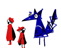 le Petit Chaperon Rouge//CharacterDesign & Illustration