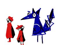 le Petit Chaperon Rouge//CharacterDesign