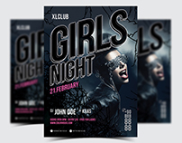 Girls Night Party Flyer / Poster - 23