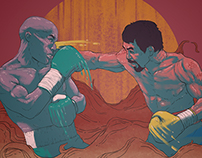 Mayweather Vs Pacquiao / Digital illustration