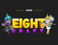 EightCraft - Hand Drawn Logo