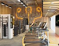 Gym at Orthodox club
