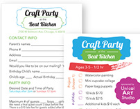 Beat Kitchen Craft Party
