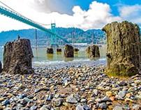Art Deco Bridge and Stumps