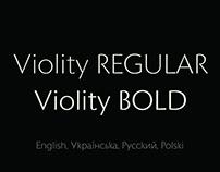 Violity Typeface
