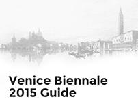 Venice Biennale 2015 Guide