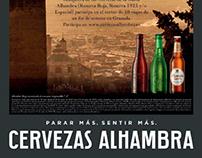 CERVEZAS ALHAMBRA: promotional campaign
