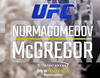UFC 229 poster design