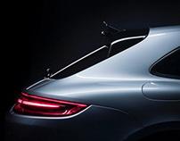 PORSCHE Panamera Turbo Sport Turismo Details