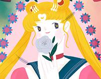 记忆里的美少女战士Sailor Moon