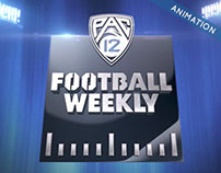 PAC-12 / Football Weekly / Show Open