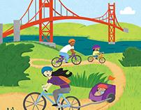San Francisco Editorial Illustrations