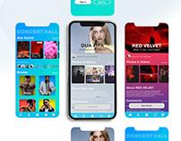 Concert Hall - Event App
