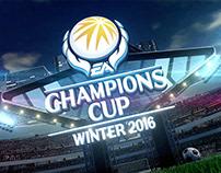 FIFA ONLINE 3 CHAMPIONS CUP Emblem Design