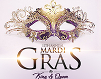 Mardi Gras Event Flyers