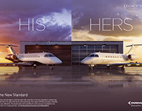 His & Hers - Legacy 500 Advertisement