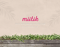 Miitik | 2018 Beachwear Collection Media Presentation