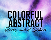30+ Colorful Abstract Backgrounds & Textures