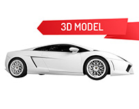Lamborghini C4D Model