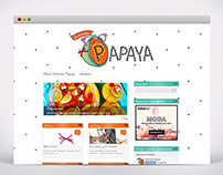 Señorita Papaya - Wordpress Site