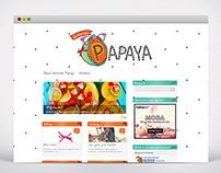 Señorita Papaya - Wordpress Site