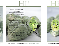 Brussels Sprouts Ad Series