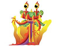 Colorful Dragon Illustration