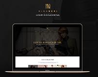 Nina Neri Online shop (landing page)