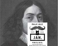 Beer Branding - Jan Craft Beer