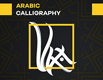 Arabic Calligraphy Conception