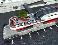 HUMA 6 / Pontoon - Floating pier design