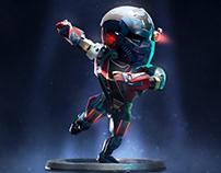 Sci Fi Sniper Character