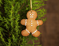 Angry Gingerbreadman