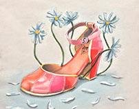 Fluevog Shoes - 2018 Illustration Contest